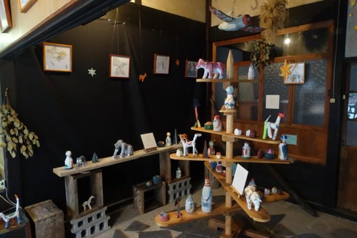 自宅のギャラリーYoyon堂で、初めての展覧会が開催されました♪